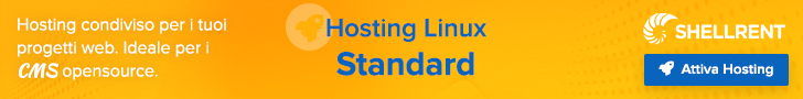 Hosting Linux Standard - Banner 728x90